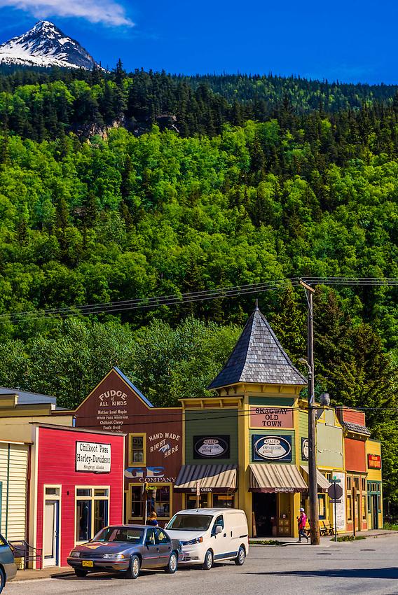 Klondike Gold Rush National Historical Park, Skagway, Inside Passage, southeast Alaska USA.