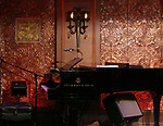 Stage during the press preview on October 3, 2018 at Feinstein's/54 Below in New York City.