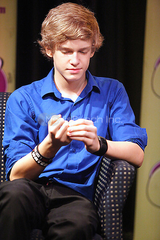 Cody Simpson performing at Q102's Xfinity Performance Theater in Bala Cynwyd, Pa on April 25, 2011  © Star Shooter / MediaPunchInc