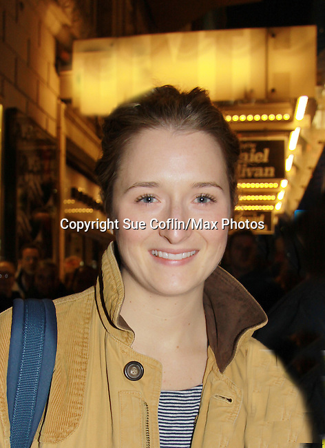 "Grace Gummer (Splash) stars in Broadway's ""The Columnist"" presented by the Manhattan Theatre Club on April 7, 2012 at the Samuel J. Friedman Theatre, New York City, New York. (Photo by Sue Coflin/Max Photos)"