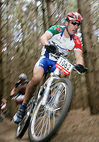 07 APR 2007 - THETFORD, UK - British Mountain Bike X Country series Round 1 Race 3. (PHOTO (C) NIGEL FARROW)