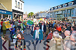 A huge crowd turned out in the sunshine to watch the colourful parade in Killarney on Tuesday.....