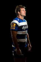 Luke Arscott poses for a portrait at a Bath Rugby photocall. Bath Rugby Media Day on August 28, 2014 at Farleigh House in Bath, England. Photo by: Patrick Khachfe / Onside Images
