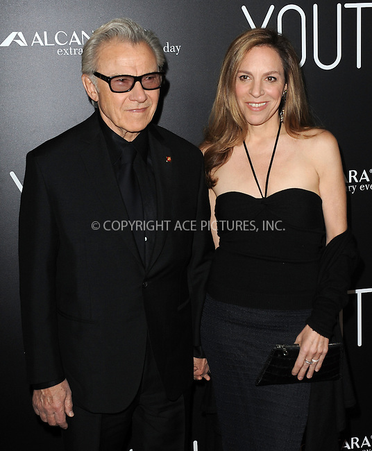 WWW.ACEPIXS.COM<br /> <br /> November 17 2015, LA<br /> <br /> Harvey Keitel and Daphna Kastner arriving at the premiere of 'Youth' at the DGA Theater on November 17, 2015 in Los Angeles, California<br /> <br /> By Line: Peter West/ACE Pictures<br /> <br /> <br /> ACE Pictures, Inc.<br /> tel: 646 769 0430<br /> Email: info@acepixs.com<br /> www.acepixs.com