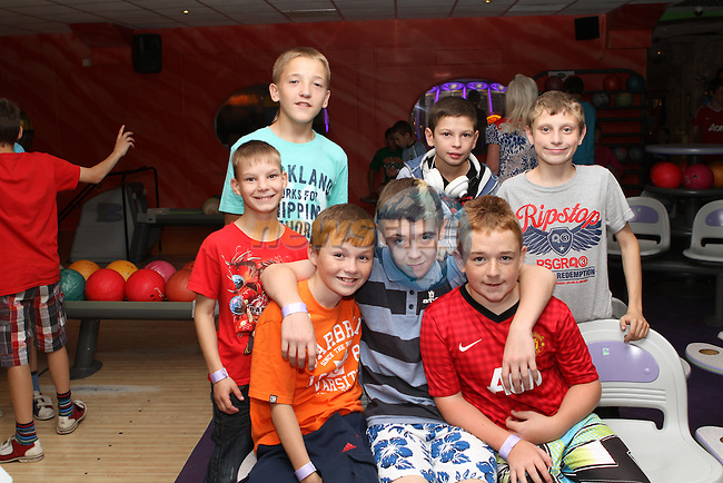 Children from Belarus and Ireland enjoy a Day out together in Funtasia, Bettystown...Photo NEWSFILE/Jenny Matthews.