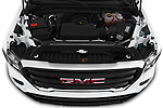 Car stock 2019 GMC Sierra 1500 Base 2 Door Pick Up engine high angle detail view