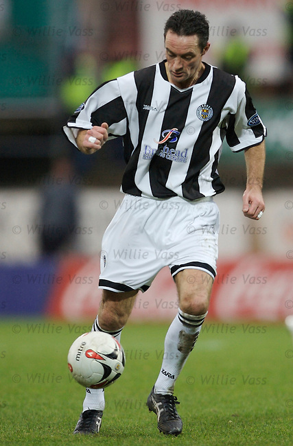 Andy Millen, St Mirren.stock season 2006-2007.pic willie vass
