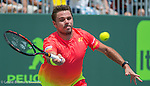 March 26 2016:  Stanislas Wawrinka (SUI) loses to Andrey Kuznetsov (RUS) 6-4, 6-3, at the Miami Open being played at Crandon Park Tennis Center in Miami, Key Biscayne, Florida. March 26 2016:  Stanislas Wawrinka (SUI) loses to Andrey Kuznetsov (RUS) 6-4, 6-3, at the Miami Open being played at Crandon Park Tennis Center in Miami, Key Biscayne, Florida. ©Karla Kinne/Tennisclix/Cal Sports Media