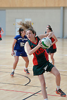 Tanya Dearns Cup - Wellington Junior Netball Tournament at ASB Sports Centre, Kilbirnie, Wellington, New Zealand on Thursday 8 August 2013.<br /> Photo by Masanori Udagawa. <br /> www.photowellington.photoshelter.com