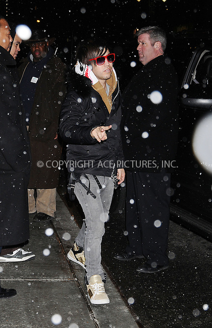 WWW.ACEPIXS.COM . . . . .  ....December 16 2008, New York City....Musician Pete Wentz made an appearance at the 'Late Show with David Letterman' on December 16 2008 in New York City....Please byline: AJ Sokalner - ACEPIXS.COM..... *** ***..Ace Pictures, Inc:  ..tel: (212) 243 8787..e-mail: info@acepixs.com..web: http://www.acepixs.com