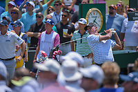Matt Kuchar (USA) watches his tee shot on 1 during round 1 of The Players Championship, TPC Sawgrass, at Ponte Vedra, Florida, USA. 5/10/2018.<br /> Picture: Golffile | Ken Murray<br /> <br /> <br /> All photo usage must carry mandatory copyright credit (&copy; Golffile | Ken Murray)