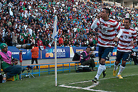PUEBLA, Mexico - March 3, 2013: The U.S. Under-20 Men's National Team fell 3-1 to Mexico in overtime of the 2013 CONCACAF U-20 Championship final this evening in front of a sold-out crowd at Estadio Cuauhtémoc in Puebla.