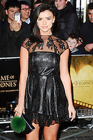 Lucy Mecklenburgh<br /> at the &quot;Game of Thrones Hardhome&quot; gala screening, Empire, Leicester Square London<br /> <br /> <br /> &copy;Ash Knotek  D3098 12/03/2016