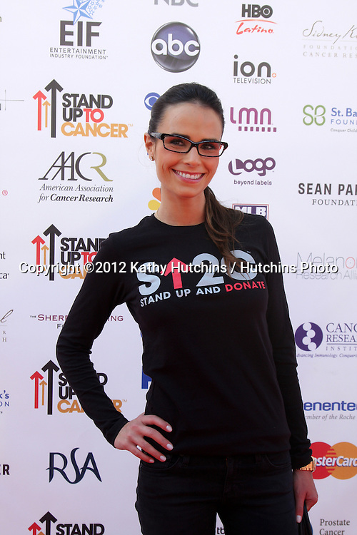 LOS ANGELES - SEP 7:  Jordana Brewster arrives at the 2012 Stand Up To Cancer Benefit at Shrine on September 7, 2012 in Los Angeles, CA