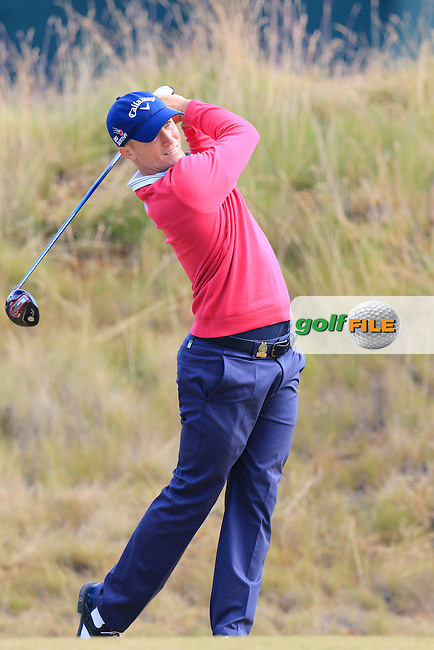 Alex NOREN (SWE) tees off the 6th tee during Friday's Round 2 of the 2015 U.S. Open 115th National Championship held at Chambers Bay, Seattle, Washington, USA. 6/19/2015.<br /> Picture: Golffile | Eoin Clarke<br /> <br /> <br /> <br /> <br /> All photo usage must carry mandatory copyright credit (&copy; Golffile | Eoin Clarke)