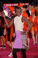 "Model Alek Wek attending the ""20th Life Ball"" AIDS Charity Gala 2012 held at the Vienna City Hall. Vienna, Austria, 19th May 2012...Credit: Wendt/face to face /MediaPunch Inc. ***FOR USA ONLY**"