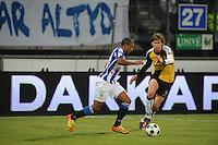 VOETBAL: SC HEERENVEEN: Abe Lenstra Stadion, 17-02-2012, SC-Heerenveen-NAC, Eredivisie, Eindstand 1-0, Luciano Narsingh, Kees Luijckx, ©foto: Martin de Jong