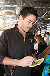 Guiding Light Tom Pelphrey at SoapFest's Celebrity Weekend - Cruisin' and Schmoozin' on the Marco Island Princess - mix and mingle and watching dolphins - autographs, photos, live auction raising money for kids on November 11, 2012 Marco Island, Florida. (Photo by Sue Coflin/Max Photos)