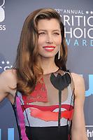 11 January 2018 - Santa Monica, California - Jessica Biel. 23rd Annual Critics' Choice Awards held at Barker Hangar. <br /> CAP/ADM/BT<br /> &copy;BT/ADM/Capital Pictures