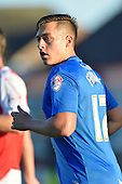 11/08/2015 Capital One Cup, First Round Fleetwood Town v Hartlepool United<br /> Scott Fenwick, Hartlepool United