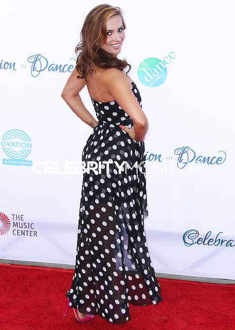 LOS ANGELES, CA, USA - JULY 19: Anya Garnis at the 4th Annual Celebration Of Dance Gala Presented By The Dizzy Feet Foundation held at the Dorothy Chandler Pavilion at The Music Center on July 19, 2014 in Los Angeles, California, United States. (Photo by Xavier Collin/Celebrity Monitor)