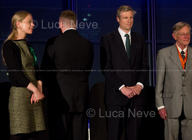 (From L to R) Si&acirc;n Berry, Paul Golding, Zac Goldsmith MP &amp; Lee Harris. <br />
