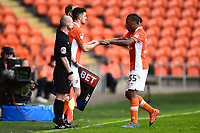 Blackpool's Neil Danns is substituted<br /> <br /> Photographer Richard Martin-Roberts/CameraSport<br /> <br /> The EFL Sky Bet League Two Play-Off Semi Final First Leg - Blackpool v Luton Town - Sunday May 14th 2017 - Bloomfield Road - Blackpool<br /> <br /> World Copyright &copy; 2017 CameraSport. All rights reserved. 43 Linden Ave. Countesthorpe. Leicester. England. LE8 5PG - Tel: +44 (0) 116 277 4147 - admin@camerasport.com - www.camerasport.com