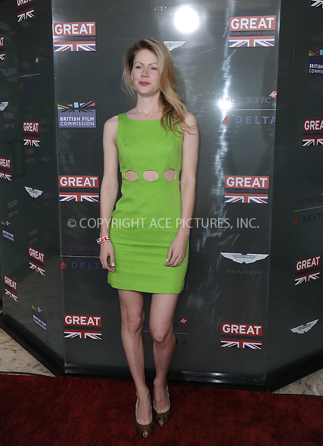 WWW.ACEPIXS.COM<br /> <br /> February 20 2015, LA<br /> <br /> Hanna Alstrom arriving at the GREAT British film reception honoring the British nominees of the 87th Annual Academy Awards at The London West Hollywood on February 20, 2015 in West Hollywood, California<br /> <br /> <br /> By Line: Peter West/ACE Pictures<br /> <br /> <br /> ACE Pictures, Inc.<br /> tel: 646 769 0430<br /> Email: info@acepixs.com<br /> www.acepixs.com