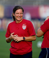 Hege Riise. The USWNT defeated Sweden, 3-0.