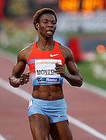 Golden Gala di atletica leggera allo stadio Olimpico di Roma, 6 giugno 2013.<br /> Botswana's Amantle Montsho wins the women's 400 meters race at the Golden Gala IAAF athletics meeting at Rome's Olympic stadium, 6 June 2013.<br /> UPDATE IMAGES PRESS/Riccardo De Luca