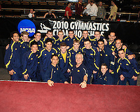 Men's 2010 NCAA Gymnastics Championships hosted at the United States Military Academy @ West Point, NY. April 17th, 2010.