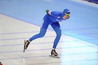 SCHAATSEN: HEERENVEEN: IJsstadion Thialf, 11-01-2013, Seizoen 2012-2013, Essent ISU EK allround, 5000m Men, Luca Stefani (ITA), ©foto Martin de Jong