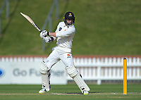 Wellington's Devon Conway bats during day three of the Plunket Shield cricket match between the Wellington Firebirds and Canterbury at Basin Reserve in Wellington, New Zealand on Thursday, 31 October 2019. Photo: Dave Lintott / lintottphoto.co.nz