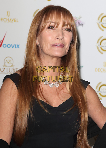Jane Seymour at the National Film Awards at the Porchester Hall, London on  Wednesday 28 March 2018 <br /> CAP/ROS<br /> &copy;ROS/Capital Pictures