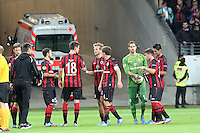Siegesjubel Eintracht Frankfurt - 1. Spieltag der UEFA Europa League Eintracht Frankfurt vs. Girondins Bordeaux