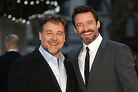 Russell Crowe, Hugh Jackman at the Noah - UK film premiere held at the Odeon Leicester Square, London. 31/03/2014 Picture by: Henry Harris / Featureflash