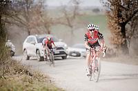 Fabio Fellini (ITA/Trek-Segafredo)<br /> <br /> 13th Strade Bianche 2019 (1.UWT)<br /> One day race from Siena to Siena (184km)<br /> <br /> ©kramon