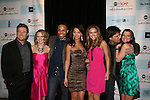 All My Children's Susan Lucci and cast AMC - Jacob Young, Brianne Moncrief, Cornelius Smith Jr, Denise Vasi, Chrishell Stause, Ricky Paull Goldin and Melissa Claire Egan attend the after party of ABC and SOAPnet's Salutes to Broadway Cares/Equity Fights Aids on March 9, 2009 at the New York Marriott Marquis, New York, NY.  (Photo by Sue Coflin/Max Photos)