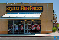Payless Shoe Source, Retail, Shoe, Store, Burbank, CA, Stores, Shopping Mall, Stock Photos, Pictures, Images, Photographs