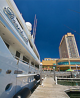 "EUS- Golden Nugget Marina and the Yacht ""Boardwalk"", Atlantic City NJ 6 14"