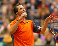 26-2-06, Netherlands, tennis, Rotterdam, Stepanek goes wild after beating C.Rochus in the final