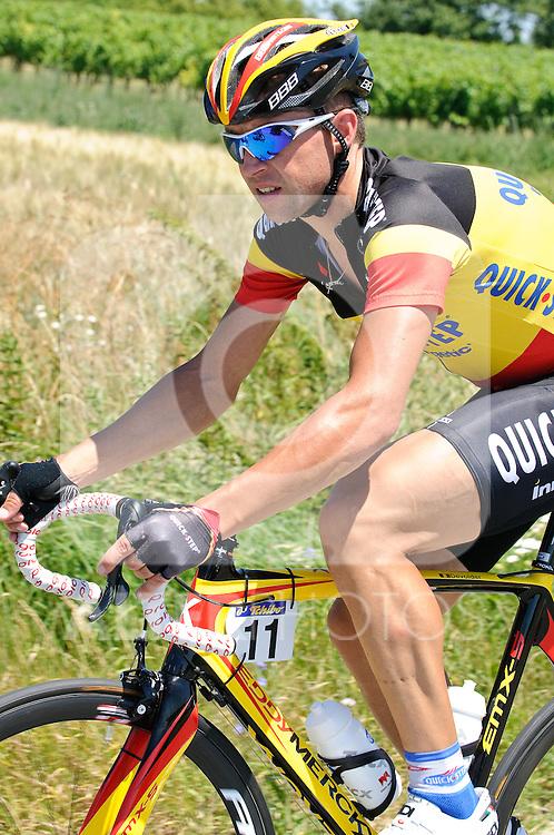 11.07.2010, AUT, 62. Österreich Rundfahrt, 8. Etappe, Podersdorf-Wien, im Bild Stijn Devolder (BEL, Quick Step), EXPA Pictures © 2010, PhotoCredit: EXPA/ S. Zangrando