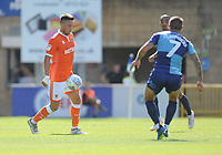 Blackpool's John O'Sullivan<br /> <br /> Photographer Kevin Barnes/CameraSport<br /> <br /> The EFL Sky Bet League One - Wycombe Wanderers v Blackpool - Saturday 4th August 2018 - Adams Park - Wycombe<br /> <br /> World Copyright &copy; 2018 CameraSport. All rights reserved. 43 Linden Ave. Countesthorpe. Leicester. England. LE8 5PG - Tel: +44 (0) 116 277 4147 - admin@camerasport.com - www.camerasport.com