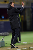 Massimiliano Allegri of Juventus reacts during the Italy Cup 2018/2019 football match between Bologna and Juventus at stadio Renato Dall'Ara, Bologna, January 12, 2019 <br />  Foto Andrea Staccioli / Insidefoto