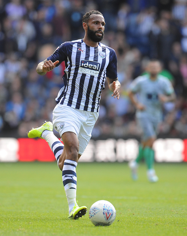 West Bromwich Albion's Semi Ajayi<br /> <br /> Photographer Kevin Barnes/CameraSport<br /> <br /> The EFL Sky Bet Championship - West Bromwich Albion v Blackburn Rovers - Saturday 31st August 2019 - The Hawthorns - West Bromwich<br /> <br /> World Copyright © 2019 CameraSport. All rights reserved. 43 Linden Ave. Countesthorpe. Leicester. England. LE8 5PG - Tel: +44 (0) 116 277 4147 - admin@camerasport.com - www.camerasport.com