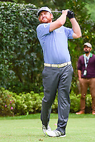 J.B. Holmes (USA) watches his tee shot on 17 go in the water during round 3 of the World Golf Championships, Mexico, Club De Golf Chapultepec, Mexico City, Mexico. 3/4/2017.<br /> Picture: Golffile | Ken Murray<br /> <br /> <br /> All photo usage must carry mandatory copyright credit (&copy; Golffile | Ken Murray)