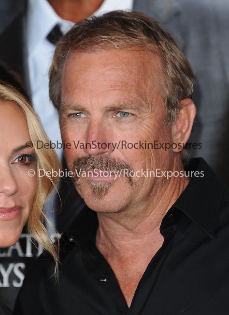 Kevin Costner attends The L.A. Premiere of Summit Entertainment's DRAFT DAY held at The Regency Village Theatre in Westwood, California on April 07,2014                                                                               © 2014 Hollywood Press Agency