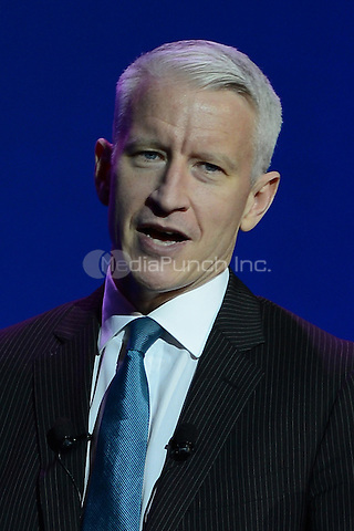 HOLLYWOOD FL - SEPTEMBER 20 : Anderson Cooper performs at Hard Rock live held at the Seminole Hard Rock hotel & Casino on September 20, 2012 in Hollywood, Florida. © mpi04/MediaPunch Inc.