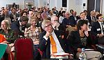 ZANDVOORT - GOLF -Bruna Hedlund (STERF) . DTRF (Dutch Turfgrass Research Foundation)  congres. COPYRIGHT KOEN SUYK