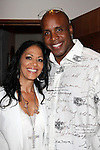 May 30, 2009:  Barry Bonds and Sheila E at 'Rhythm on the Vine' charity event to benefit Shriners Children Hospital held at  the Gainey Vineyard in Santa Ynez, California..Photo by Nina Prommer/Milestone Photo